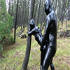 Rubber Fetish World ~ Ameba rubber couple outdoor exposure rubber SEX ~