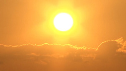 Sun 001 (stock movie HD material)