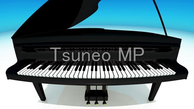 일러스트 CG 피아노