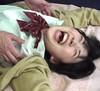 ⑤ 【M / F】 Transcendent pretty JK Torture tickling armpit of Hikaru Minamitsuki