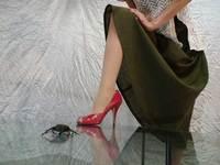 ミセスの赤いハイヒール 〔Red High heel〕