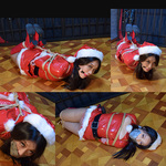 Santa's Helper Namie Trapped and Bound in the Attic Part 2