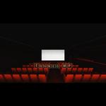 CG movie theater, video