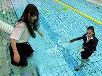 2人だけの水泳講座(Wet Girls 07B1)