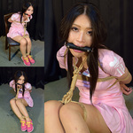NH2 Namie Tied & Gagged in Cute Tennis Outfit Part2