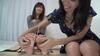 Lesbian tickling Remix [foot 裏編]