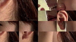 【脸部恋物癖:嘴唇耳朵等】一个一直在改善的业余模特的脸
