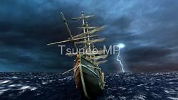 Illustration CG boats