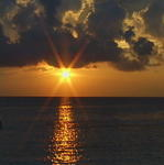 몰디브 석양 Sunset of the Maldives