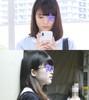 [Train molester] Appearance uniform J ○ ★ ★ Famous ballet lady private life and Gari Tsutomu glasses girls