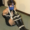Leather Gags Bondage - Sayaka Yanagisawa Bound and Gagged - Full Movie