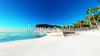 Illustration CG sea sandy beach