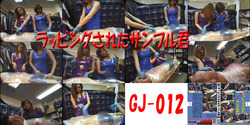 GJ-012 포장 된 샘플 君 Rubber and Vinyl Gloved Handjob Action.