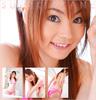 Suzuki Akane cat ears pink bikini