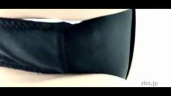 [Voyeur] Black panties with napkin