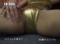TR-006-02 enamel with scene-change of clothes