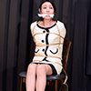 Tokyo bondage photo collection [mature woman secretary Madoka anguished continuous gag]