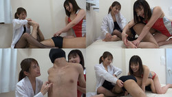 【Tickled · M man tickling】 Tickled as two repair teachers [Mizuki Hayakawa & Hanasaki Ian]