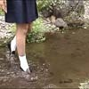 Wet &Messy Shoes Scene066