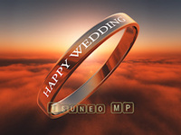 映像CG HAPPY WEDDING