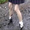 Wet &Messy Shoes Scene067
