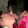 Lesbian kiss 2-4 (SD version) -Cosplay kissing-