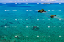 Aerial photography / uruma city / Hama-Higa Island UH1695