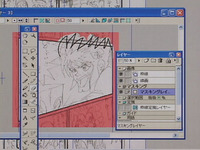 Putting pen to protruded from the Manga Studio Pro3.0 how to use the course time-lapse pictures