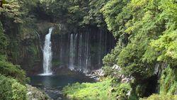 Shizuoka Ken, Fujinomiya city shiraito waterfall-1 ~ 3