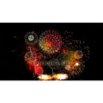 Video live-action pyrotechnic Fireworks